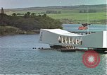 Image of USS Arizona memorial Honolulu Hawaii USA, 1962, second 22 stock footage video 65675061879