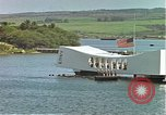 Image of USS Arizona memorial Honolulu Hawaii USA, 1962, second 43 stock footage video 65675061879