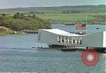 Image of USS Arizona memorial Honolulu Hawaii USA, 1962, second 44 stock footage video 65675061879