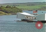Image of USS Arizona memorial Honolulu Hawaii USA, 1962, second 45 stock footage video 65675061879