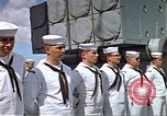 Image of USS Arizona memorial Honolulu Hawaii USA, 1962, second 47 stock footage video 65675061879