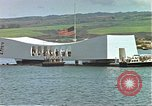 Image of USS Arizona memorial Honolulu Hawaii USA, 1962, second 54 stock footage video 65675061879