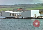 Image of USS Arizona memorial Honolulu Hawaii USA, 1962, second 55 stock footage video 65675061879