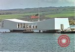 Image of USS Arizona memorial Honolulu Hawaii USA, 1962, second 56 stock footage video 65675061879