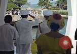 Image of USS Arizona Memorial Honolulu Hawaii USA, 1962, second 22 stock footage video 65675061880