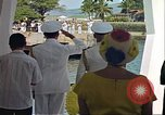 Image of USS Arizona Memorial Honolulu Hawaii USA, 1962, second 24 stock footage video 65675061880