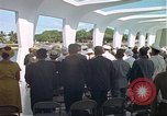 Image of USS Arizona Memorial Honolulu Hawaii USA, 1962, second 31 stock footage video 65675061880