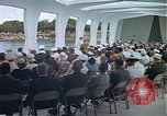 Image of USS Arizona Memorial Honolulu Hawaii USA, 1962, second 42 stock footage video 65675061880