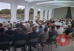 Image of USS Arizona Memorial Honolulu Hawaii USA, 1962, second 44 stock footage video 65675061880