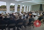 Image of USS Arizona Memorial Honolulu Hawaii USA, 1962, second 45 stock footage video 65675061880