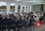 Image of USS Arizona Memorial Honolulu Hawaii USA, 1962, second 47 stock footage video 65675061880