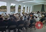 Image of USS Arizona Memorial Honolulu Hawaii USA, 1962, second 50 stock footage video 65675061880