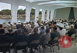 Image of USS Arizona Memorial Honolulu Hawaii USA, 1962, second 51 stock footage video 65675061880