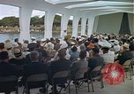 Image of USS Arizona Memorial Honolulu Hawaii USA, 1962, second 52 stock footage video 65675061880