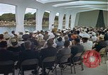 Image of USS Arizona Memorial Honolulu Hawaii USA, 1962, second 53 stock footage video 65675061880