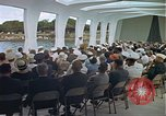 Image of USS Arizona Memorial Honolulu Hawaii USA, 1962, second 57 stock footage video 65675061880