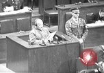 Image of war crimes trial Tokyo Japan, 1948, second 1 stock footage video 65675061885