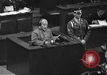 Image of war crimes trial Tokyo Japan, 1948, second 14 stock footage video 65675061885