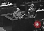 Image of war crimes trial Tokyo Japan, 1948, second 15 stock footage video 65675061885