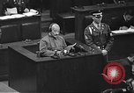 Image of war crimes trial Tokyo Japan, 1948, second 16 stock footage video 65675061885