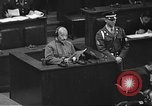 Image of war crimes trial Tokyo Japan, 1948, second 17 stock footage video 65675061885