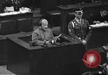 Image of war crimes trial Tokyo Japan, 1948, second 18 stock footage video 65675061885