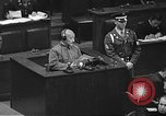 Image of war crimes trial Tokyo Japan, 1948, second 24 stock footage video 65675061885