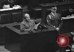 Image of war crimes trial Tokyo Japan, 1948, second 31 stock footage video 65675061885