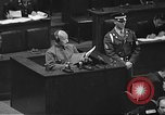 Image of war crimes trial Tokyo Japan, 1948, second 33 stock footage video 65675061885