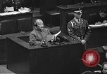 Image of war crimes trial Tokyo Japan, 1948, second 34 stock footage video 65675061885