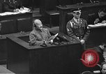 Image of war crimes trial Tokyo Japan, 1948, second 40 stock footage video 65675061885