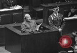 Image of war crimes trial Tokyo Japan, 1948, second 42 stock footage video 65675061885