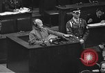 Image of war crimes trial Tokyo Japan, 1948, second 44 stock footage video 65675061885