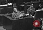 Image of war crimes trial Tokyo Japan, 1948, second 47 stock footage video 65675061885