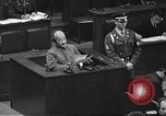 Image of war crimes trial Tokyo Japan, 1948, second 49 stock footage video 65675061885