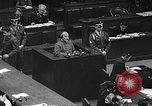 Image of war crimes trial Tokyo Japan, 1948, second 61 stock footage video 65675061885