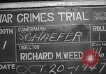 Image of war crimes trial Tokyo Japan, 1947, second 1 stock footage video 65675061886