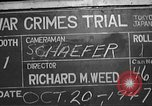 Image of war crimes trial Tokyo Japan, 1947, second 2 stock footage video 65675061886