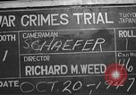 Image of war crimes trial Tokyo Japan, 1947, second 4 stock footage video 65675061886
