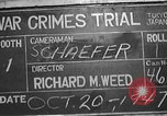 Image of war crimes trial Tokyo Japan, 1947, second 6 stock footage video 65675061886