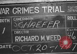 Image of war crimes trial Tokyo Japan, 1947, second 11 stock footage video 65675061886