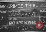 Image of war crimes trial Tokyo Japan, 1947, second 12 stock footage video 65675061886