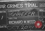 Image of war crimes trial Tokyo Japan, 1947, second 13 stock footage video 65675061886