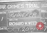 Image of war crimes trial Tokyo Japan, 1947, second 14 stock footage video 65675061886