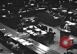 Image of war crimes trial Tokyo Japan, 1947, second 28 stock footage video 65675061886