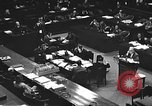 Image of war crimes trial Tokyo Japan, 1947, second 29 stock footage video 65675061886
