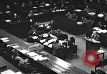 Image of war crimes trial Tokyo Japan, 1947, second 21 stock footage video 65675061887
