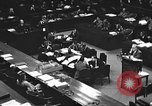 Image of war crimes trial Tokyo Japan, 1947, second 22 stock footage video 65675061887