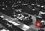 Image of war crimes trial Tokyo Japan, 1947, second 27 stock footage video 65675061887
