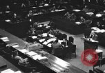 Image of war crimes trial Tokyo Japan, 1947, second 28 stock footage video 65675061887
